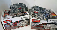 2 Edelbrock Dual Quad AVS 500 CFM Carburetors Winnipeg Manitoba Preview