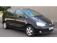 **PEOPLE CARRIER** Ford Galaxy 2.8i 2002 V6 Ghia (12 months mot)