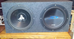 """Brand new box with 2 12"""" speakers"""