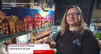 Artist wanted for Rogers Tv art show