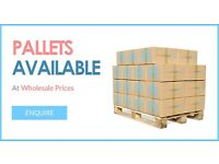 Cream Chargers Pallet wholesale available. Mosa! Call now