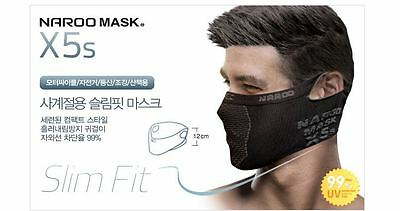 Multi-functional Headwear NAROO MASK X5s Slim Fit good design black