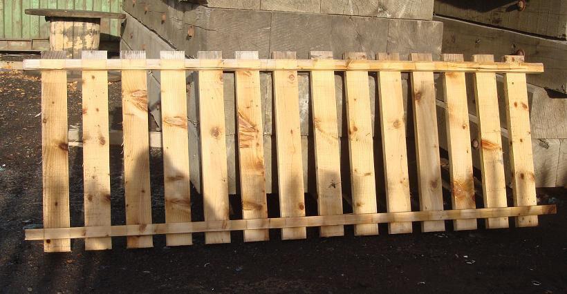 Fence panel slatted wooden racking shelving decking garden for Garden decking gumtree