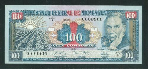 Nicaragua 1990 100 Cordobas P 178 UNC