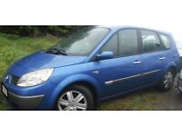 BREAKING 2005 RENAULT GRAND SCENIC 1.6 PETROL -- NO TEXTS PLEASE - NEWRY / ARMAGH