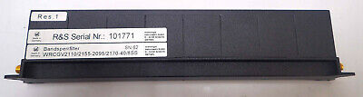 Wainwright Instruments Wrcgv21102155-20952170-408ss Band Stop Reject Filter