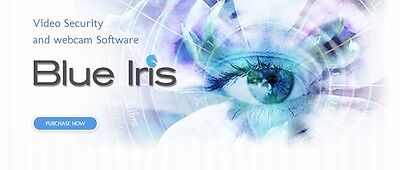 New Blue Iris Pro v5 Video Surveillance Software, Instant Delivery, New License (Video Surveillance Software)