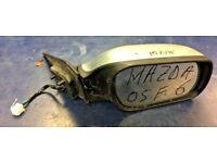 2005 MAZDA6 MAZDA 6 DRIVER RIGHT OFF SIDE COMPLETE ELECTRIC MIRROR