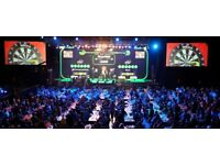 TABLE SEATS X 2 OR 4 CHAMPIONS LEAGUE OF DARTS £20 EACH TICKET SATURDAY OR SUNDAY CAN SEND TODAY