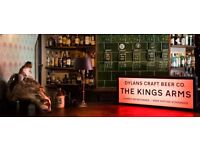 Kitchen Porter (KP) Required For Popular Pub in St Albans - Afternoons & Evenings Tuesday - Friday