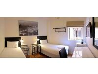 Twin room in South Wimbledon. available from 31/07