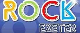 2 x LET'S ROCK EXETER CONCERT TICKETS AT POWDERHAM CASTLE