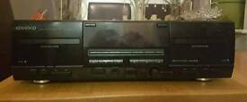Kenwood double cassette player excellent condition