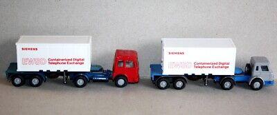 Wiking 24 520 Scania Container Sattelzug Siemens deutsch 1:87 H0
