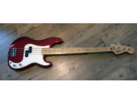 Fender P-Bass Precision Mexican AS NEW - Sound Samples