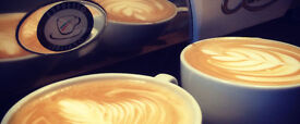 Waiting staff / barista required for busy cafe