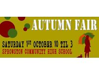 The Sprowston Community High School for the MASSIVE Autumn Craft and Gift Fair.