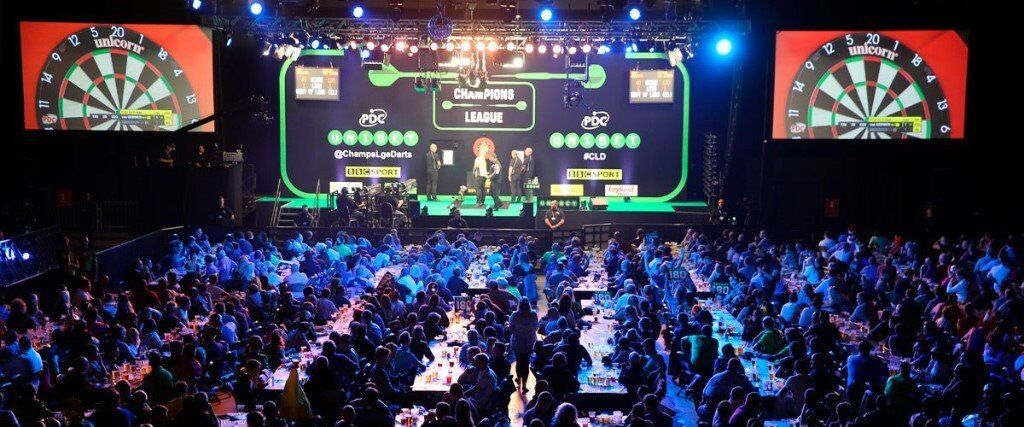 CHAMPIONS LEAGUE OF DARTS TICKETS BRIGHTON - FRONT TABLE - SAT & SUNDAY -  LESS THAN FACE VALUE | in Hull, East Yorkshire | Gumtree