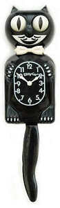 KITTY-KAT-KLOCK-BLACK-KIT-CAT-CLOCK-MADE-IN-THE-USA-FREE-SAME-DAY-SHIPPING