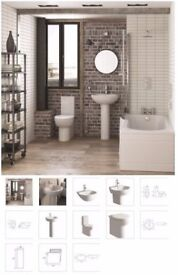 modern basin and toilet suite from as low as £209.04