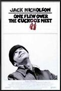 One Flew Over The Cuckoo's Nest Poster