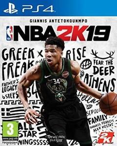 Brand new sealed NBA 2K19 for PS4 - $60.