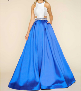 Mac Duggal ballgown 65837h Royal color Glen Alpine Campbelltown Area Preview