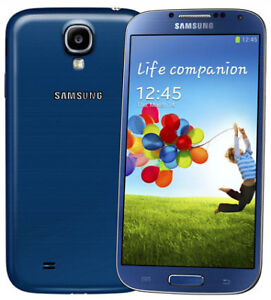 Great shape-Blue 32GB Samsung Galaxy S4+ FACTORY Unlocked