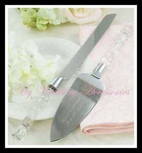 Cake Server & Knife Set ~ Wedding, Engagement, Anniversary NIB