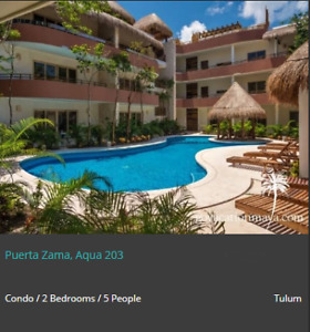 vacation rental in playa del carmen