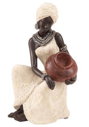 Black Woman Figurine Ebay