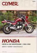 Honda Nighthawk Manual