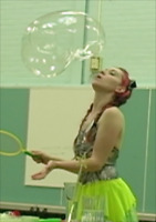 Bubble shows: children's entertainment at it's best!
