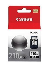 NEW CANON 210XL BLACK INK CARTRIDGE Canon® PG-210XL Black Ink Cartridge, High Yield (2973B001) 106292976