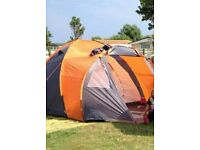 4 person dome tent used once