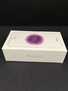 iPhone 6, Unlocked, 16 Gb, White and Silver Colour, Brand New