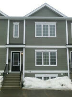 Three bedroom town house,