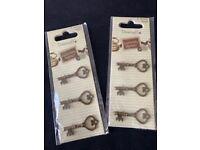 Antique-Style Keys for scrapbooking etc