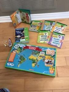 LEAP Frog TAG Learning System- Multiple Sets! $45