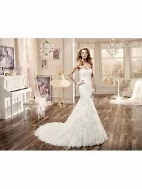 Ivory Pink Nicole Spose wedding dress for sale