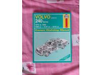 Volvo 240 series (petrol) Haynes Manual