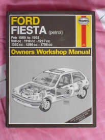 Ford Fiesta Hanes Manual