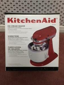 Kitchen Aid   Ice Cream Maker Attachment