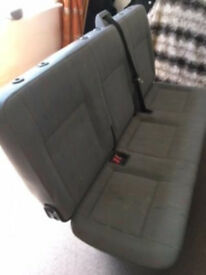 Triple bench seat, complete, good condition