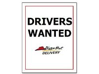 Pizza Hut Delivery Moped Drivers (North & East London) - Earn up to £8.00 per hour (inc tips)