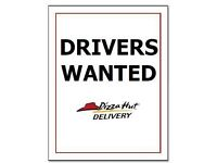 Delivery Drivers Wanted PIZZA HUT SOUTHGATE/ENFIELD