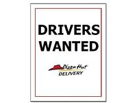 Delivery Drivers Wanted PIZZA HUT CHESHUNT
