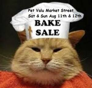 Bake Sale for Hearts to Homes Feline Rescue & Sanctuary