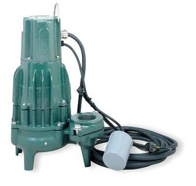 Zoeller Wd295 Waste-mate 2 Hp 2 Auto Submersible Sewage Pump 230v Tether