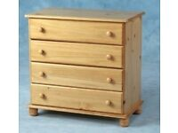 Brand new set of pine drawers £65 ... Deliverry can be arranged....